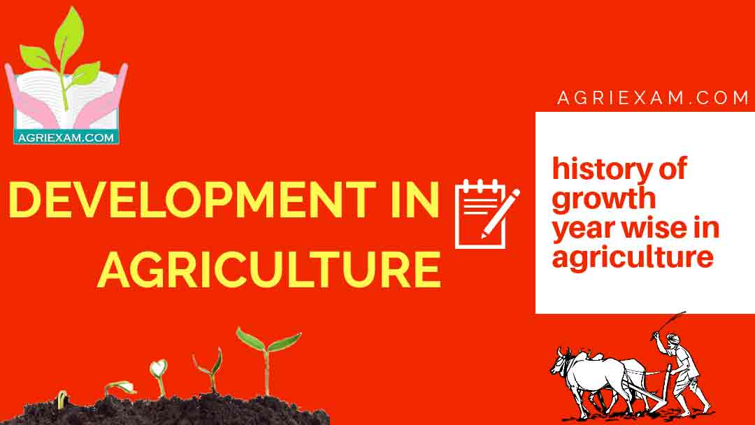 History of Agriculture in India